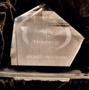 Prêmio de Solução Inovadora de 2017 entregue a IMWTI, por nosso produto IMWPro.